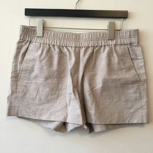 J Crew Size 8 Shimmer Shorts